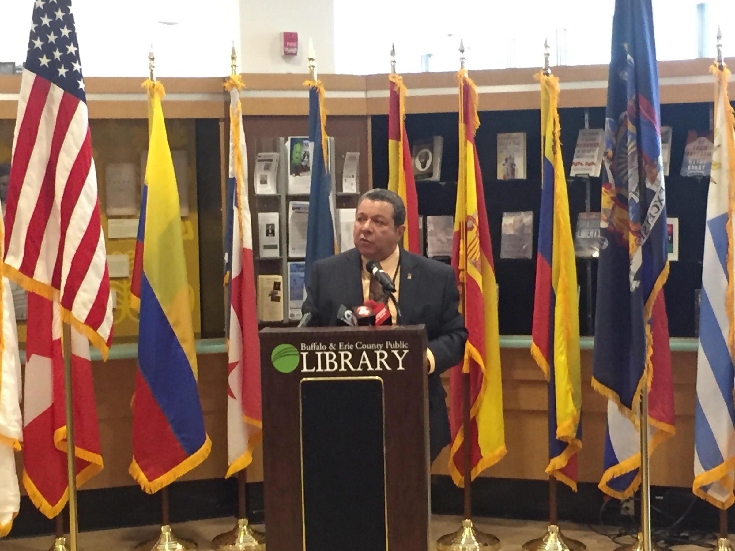 WBFO: Hispanic Heritage Month Begins in Buffalo